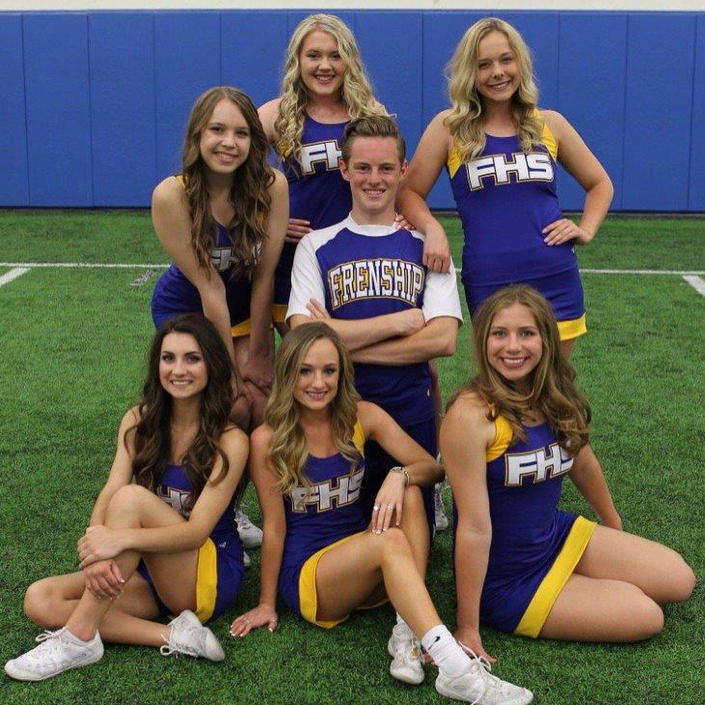 Victor Mourns Teddi Bowl Cheerleader