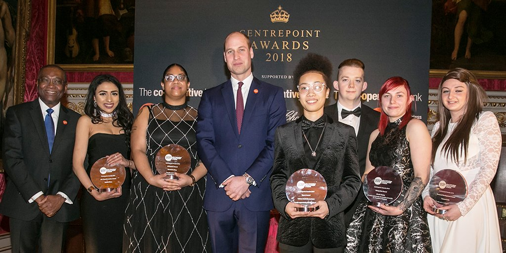 We're proud to have supported the Centrepoint Awards 2018. It was great to celebrate the achievements of some inspirational young people who have overcome homelessness, with the help of @centrepointuk. #CPatthePalace