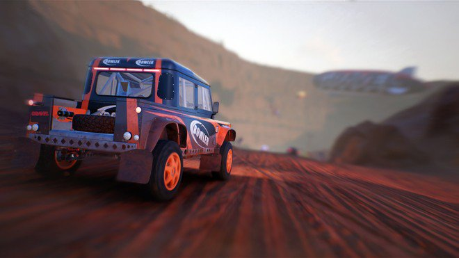 Gravel racing game