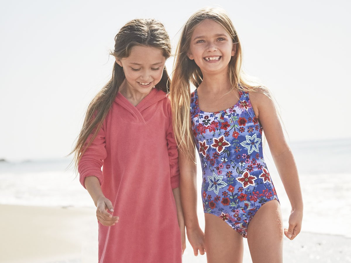 6438ab9fe03 Spring swimwear is already making a splash! Check out the four kids  swim  trends we have our eye on this season. http   ghill.me 2BjDL2o  swimtrends  ...