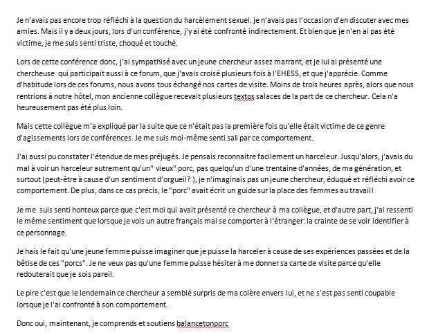 Sebastien Goulard On Twitter BalanceTonPorc Chercheurs Conferences