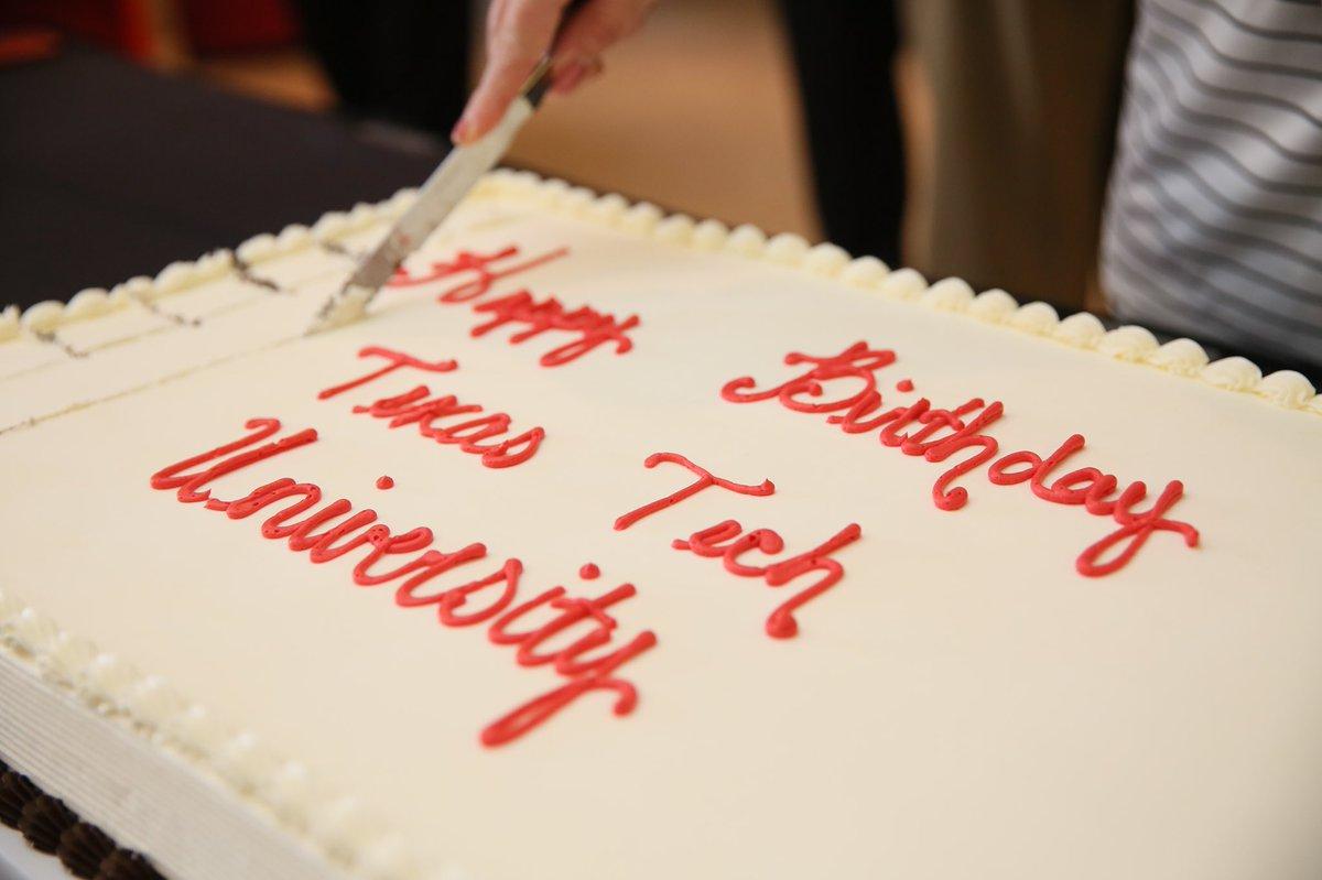 Fine Texas Tech University On Twitter Help Us Celebrate Texastechs Funny Birthday Cards Online Amentibdeldamsfinfo