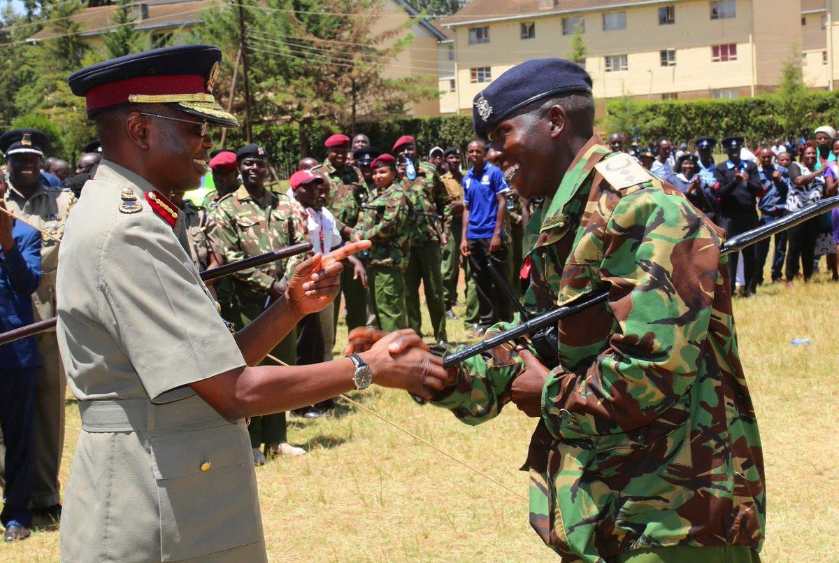 Kenya police cid training school