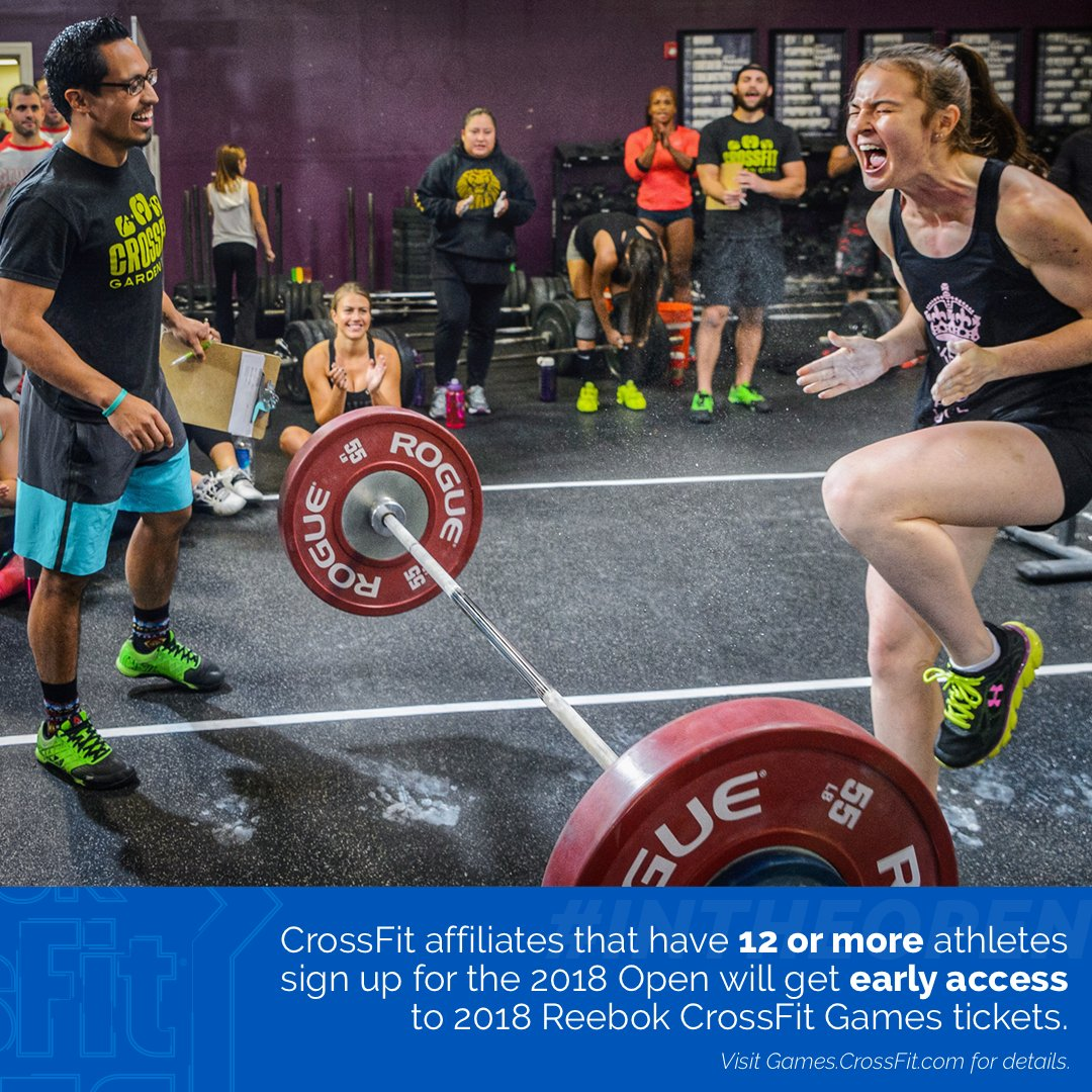 ... for early access to tickets for the 2018 Reebok CrossFit Games  ⇢  http   games.crossfit.com article get-early-access-2018-crossfit-games- tickets open … ... c4e7cce5b