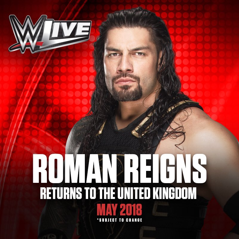 .@WWEUK, the Big Dog is coming back in May... eventim.co.uk/Tickets.html?a…