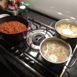 Heute gab es eine wärmende #Bolognese mit #Linguine… #aachen_kocht 👨🏻🍳👌🏻😋🍝