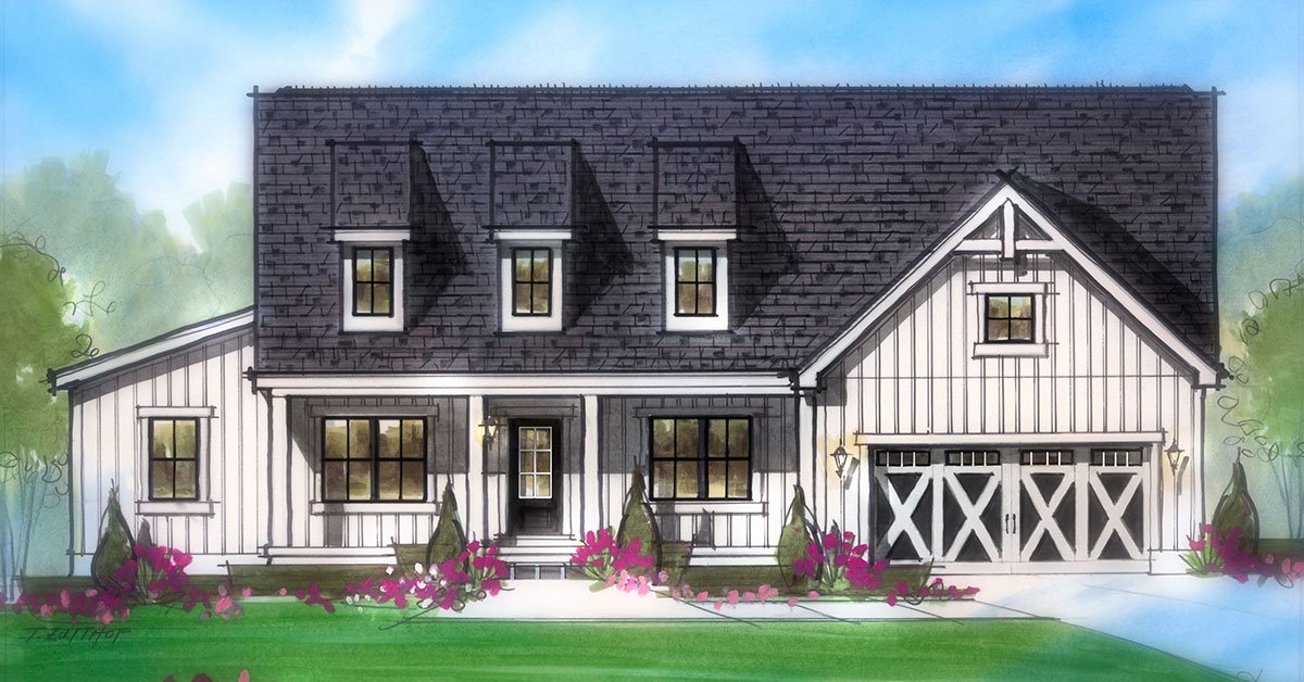 check out our new modern farmhouse elevations which one is your favoritepictwittercomdg6sx03iqd - Farmhouse Elevations