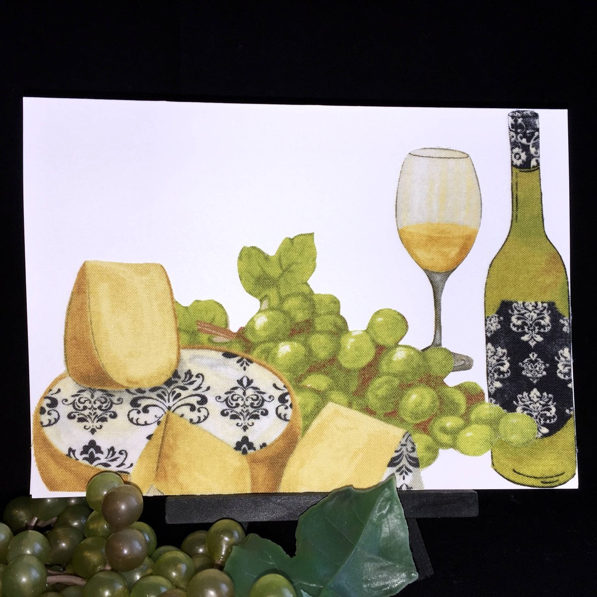 Wine Lovers Card And Cheese Birthday Friendship Valentines For Wife Husband Wineloverscard