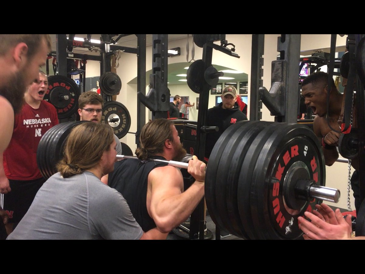Zachary Duval On Twitter Banging Out The Last Set Of 10 On The