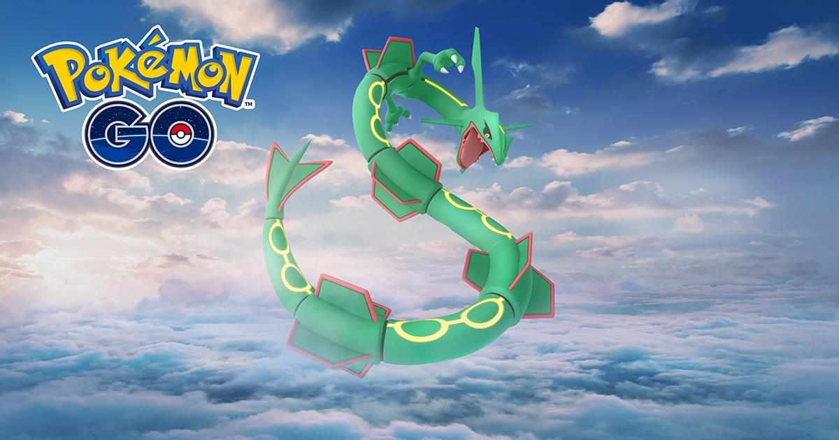 Rayquaza y nuevos Pokémon este mes de Febrero en Pokémon GO