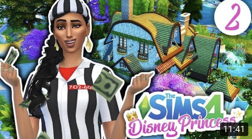 Sandi On Twitter Good Girl Gone Bad Sims 4 Disney Princess