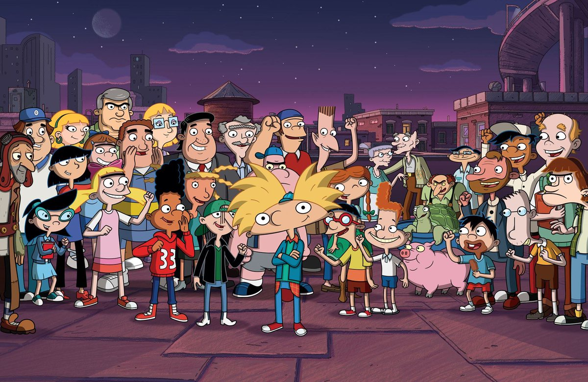hey arnold characters - HD1200×780
