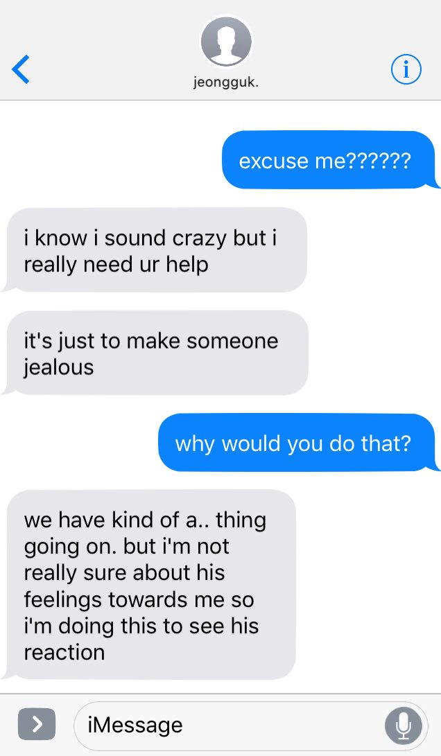 why make someone jealous