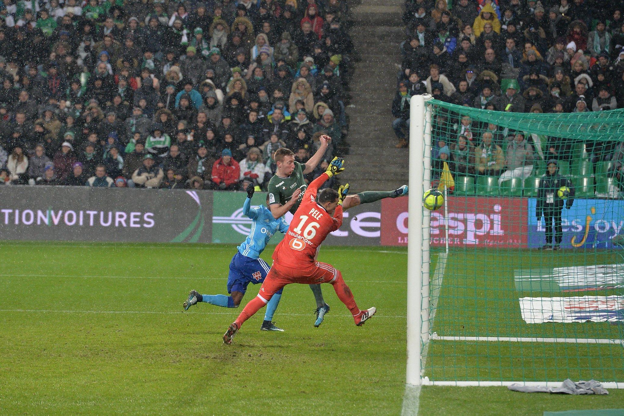 Gol do Saint-Étienne
