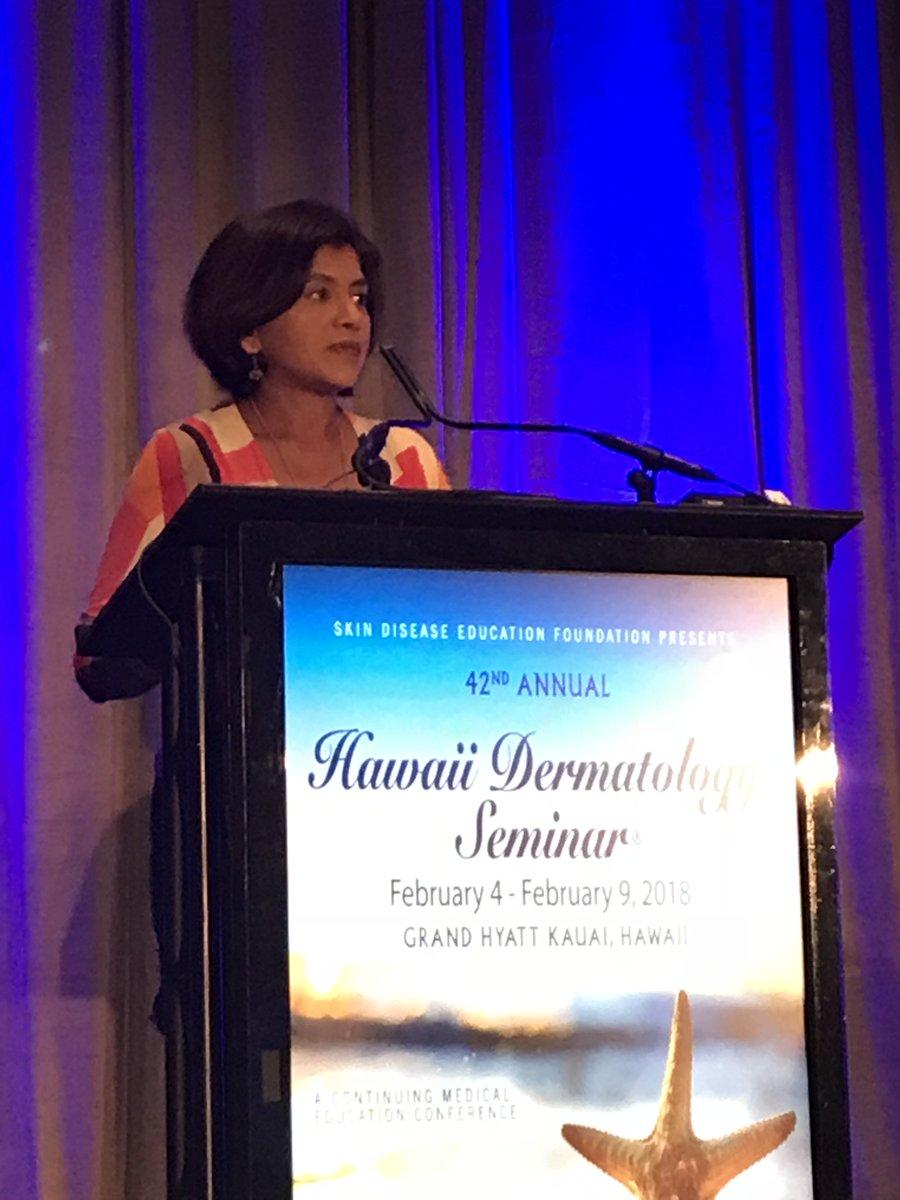 SDEF Hawaii Dermatology Seminar on Twitter: