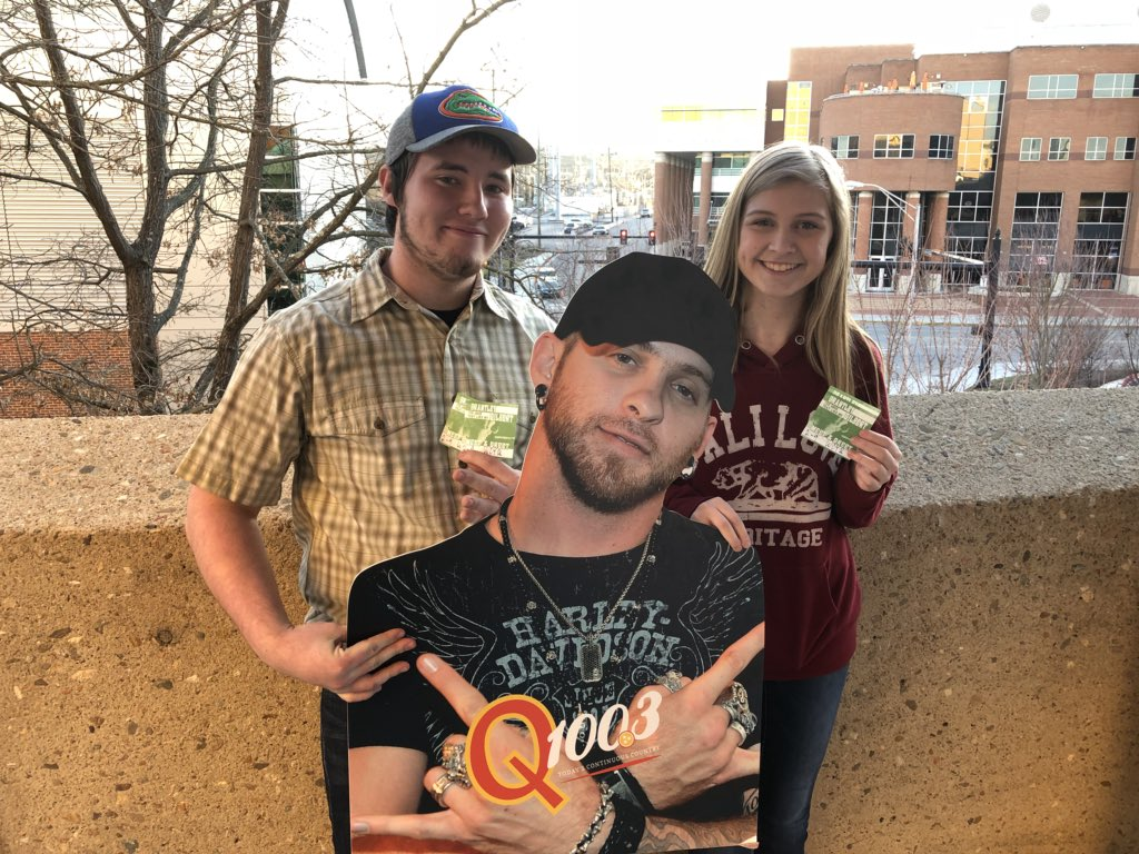 Meet and greet brantley gilbert images greetings card design simple q1003 knoxville on twitter congrats to the winners of m4hsunfo