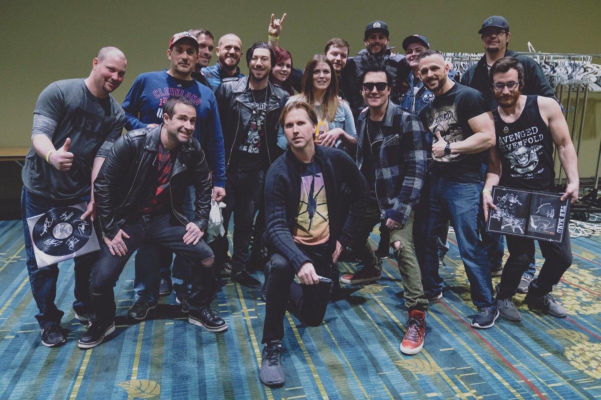 Avenged Sevenfold On Twitter Deathbatnation Meet And Greet