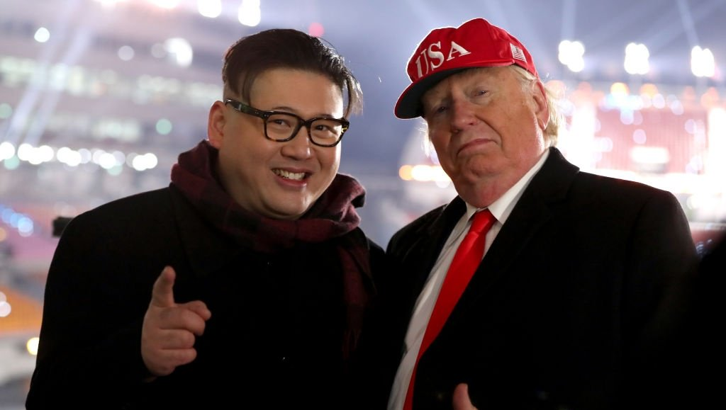 President Trump, Kim Jong Un lookalikes at Olympics 'want peace' https://t.co/bdyQwTehbo