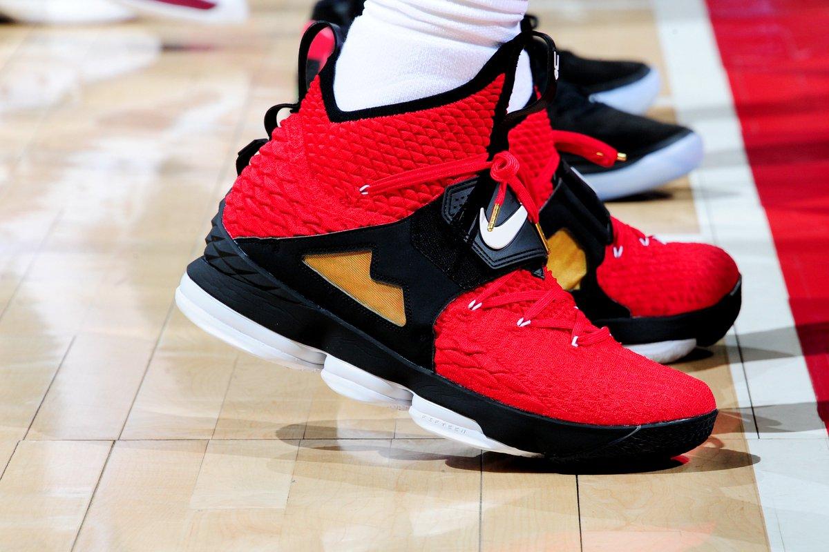 LeBron's #NBAKicks in ATL.
