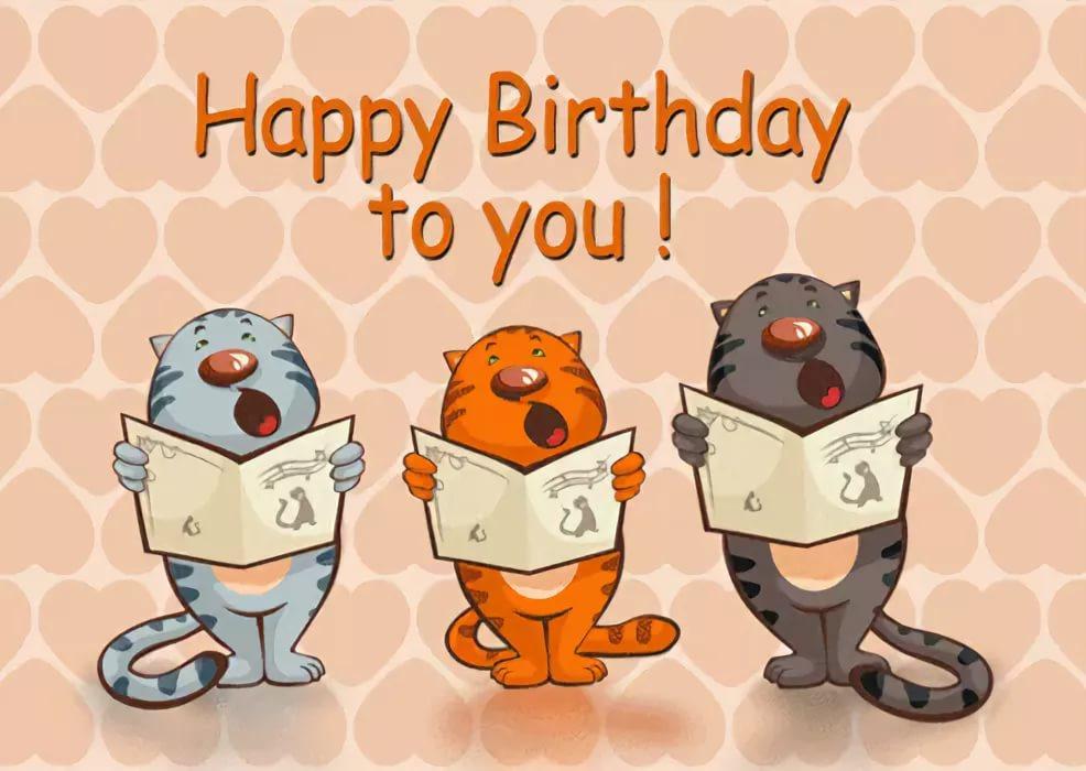 Открытки с поздравлениями с днем рожденья на английском языке, днем рождением
