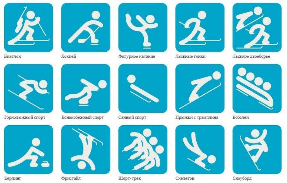 Эмблемы видов спорта в картинках для детей, петухом