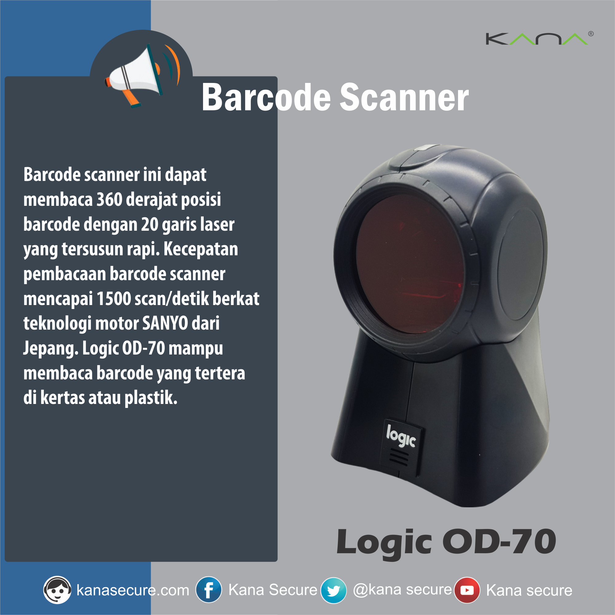 "Kana Secure on Twitter ""New barcode scanner from Kana Secure Check this out on Barcode barcodescanner Scanner supermarket"