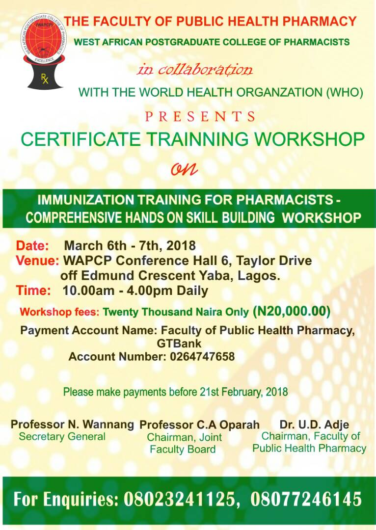Psn Rivers State On Twitter Certificate Training Workshop On