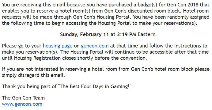 Gaines Kergosien On Twitter Bait And Switch On The Gencon Hotel