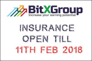 Image for BITXGROUP LTD Insurance Request open till 24 HOURS.