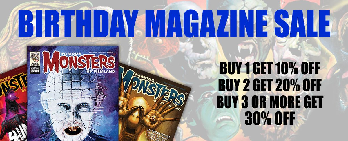 c98b52a8 Famous Monsters on Twitter: