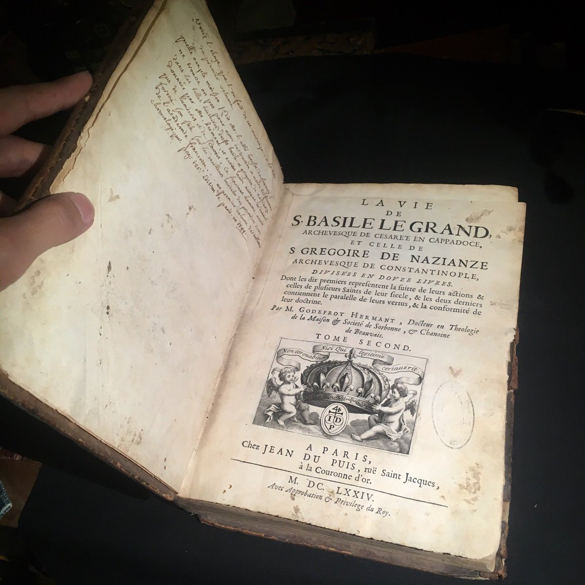 "LECURIO on Twitter: ""17世紀の古書 フランス パリ出版 1674年に出版 ..."