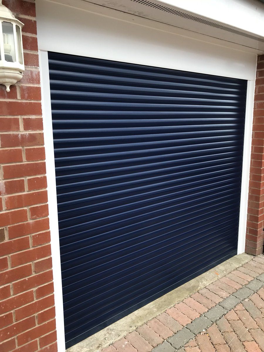 Wallgate Windows On Twitter New Electric Roller Garage Door And