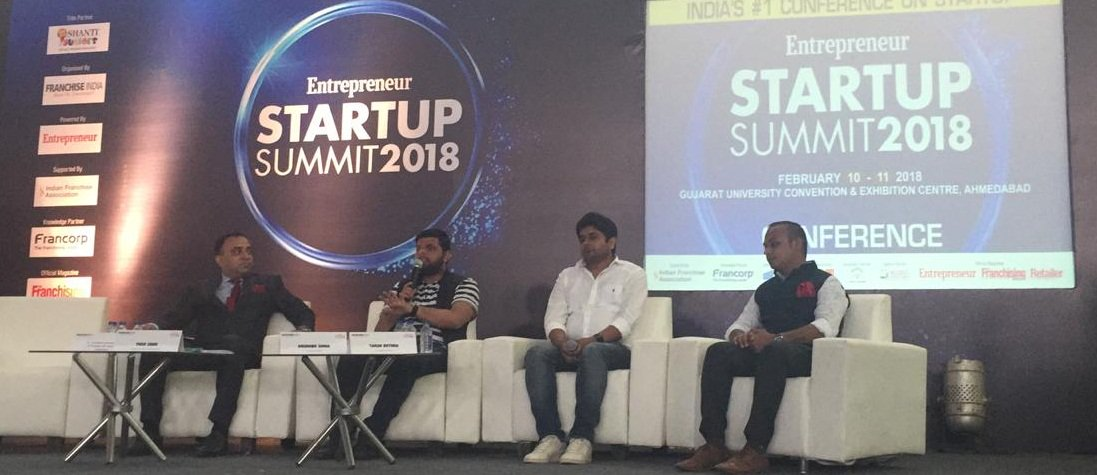 Hear it from the experts on how Innovators are taking on big brands, disrupting traditional paradigms and inventing the future at  #StartupSummit2018 #FRO2018 #Ahmedabad #TarunBothra @SaathiPads #YashShah @eswasthya @arunabhs @UCleanIndia #RupeshVasani SAL Group of Institutions
