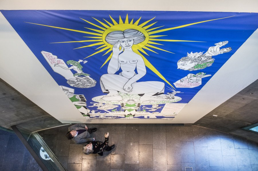 Alasdair gray latest news breaking headlines and top for Alasdair gray hillhead mural