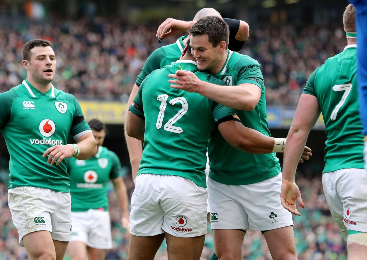 1c9685393d6 BP win for the Boys in Green! IRELAND 56-19 Italy 🇮🇪 #