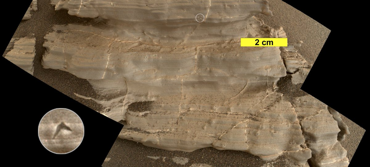 Mystic Crystal Revelations: (Scientific, really.) These tiny crystals may be what's left from an ancient lake on Mars, or when past groundwater moved through sediment. https://t.co/tl7sj3WP5p