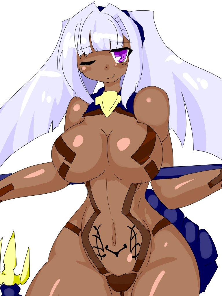 かっしょくぎんぱつ!っていうか ああチョコ神姫ってそういうっていうか 黒檀白檀というか