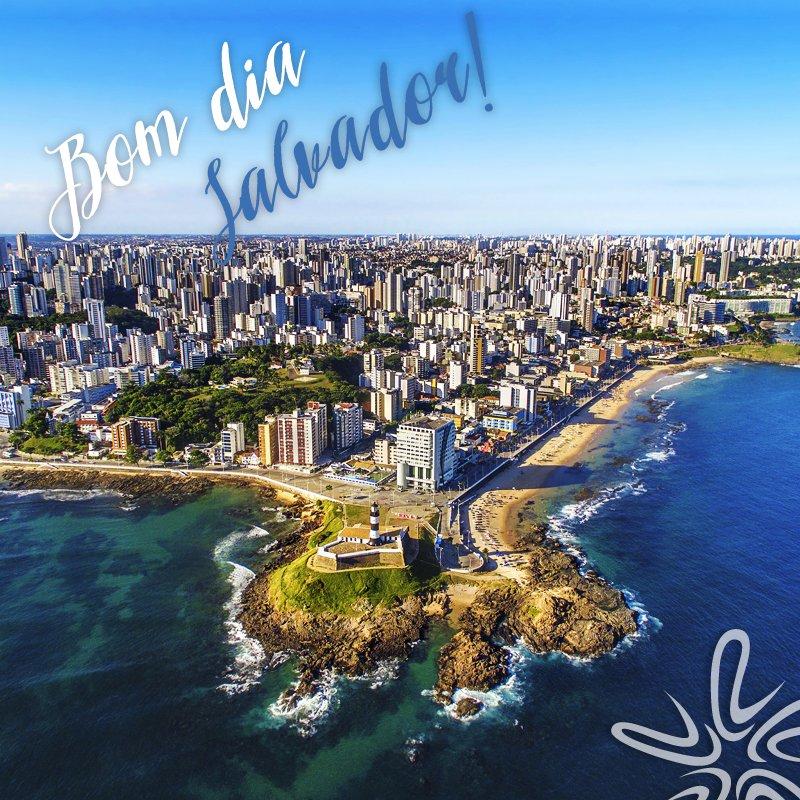 Bom dia para quem está curtindo a folga em Salvador!  #LitoralVerdeViagens #BomDia #Salvador #ViajaréViver #ViajaréPreciso https://t.co/pEZejEz4Kz