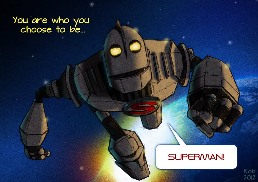 Realhartman To Quote The Iron Giant The Fact That We Have Seen The