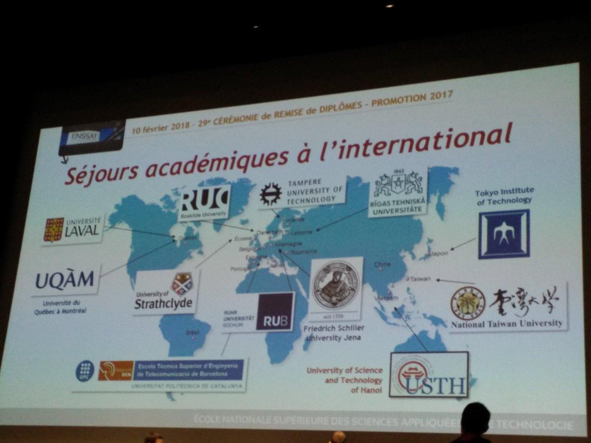 Photo des séjours académiques à l'international