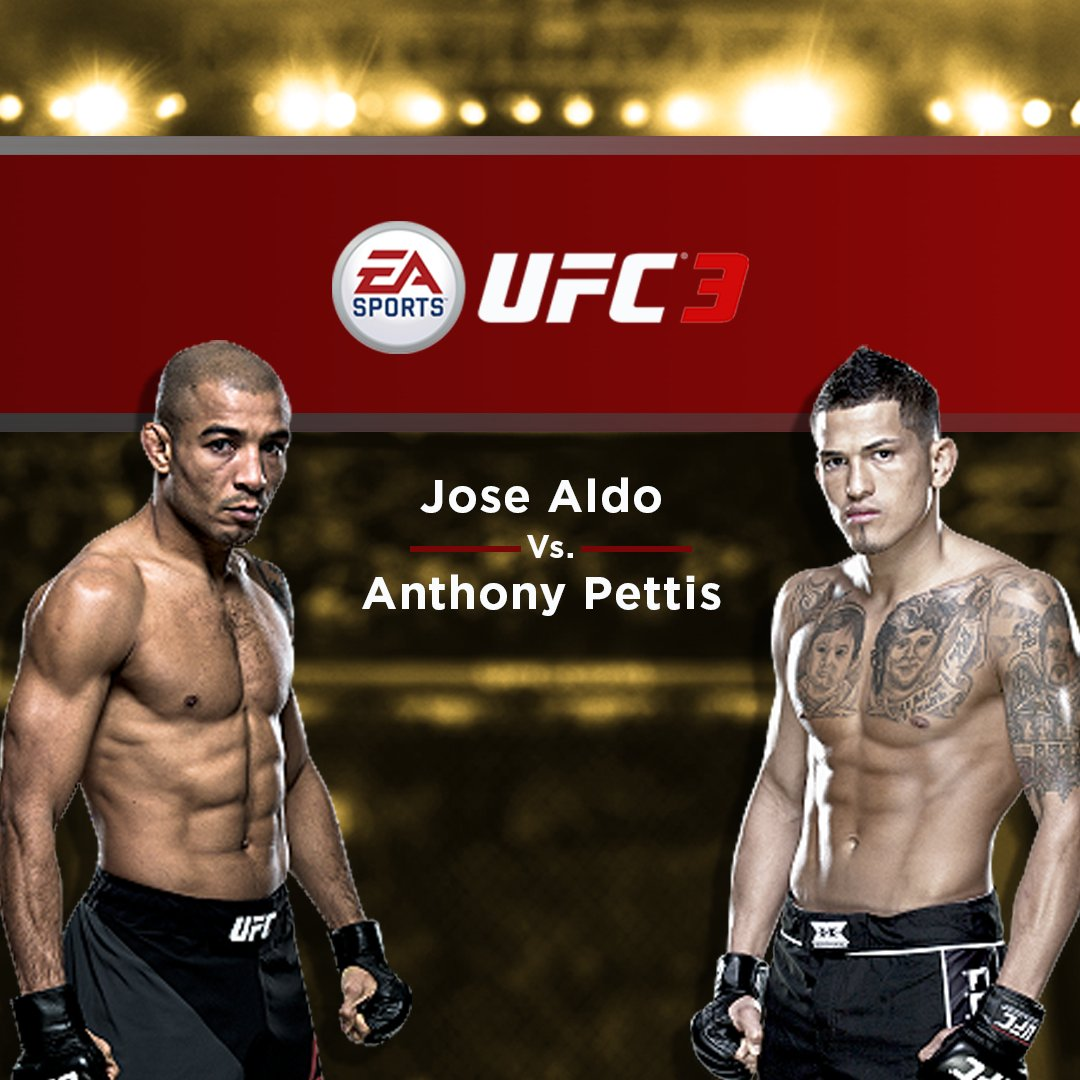 José Aldo vs. Anthony Pettis  #EAUFC3 w/...
