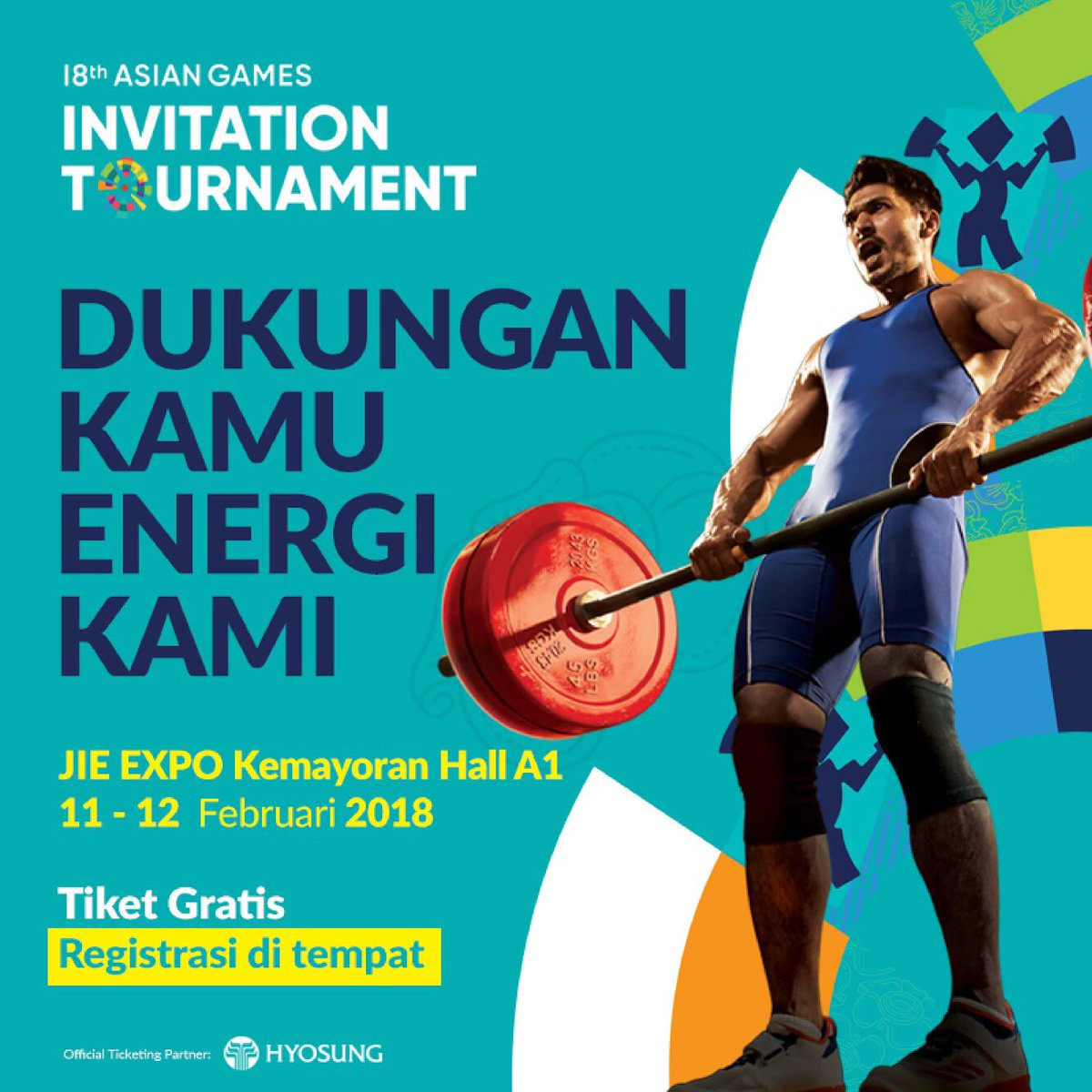 Asian games 2018 on twitter ready to lift lets watch asian games 2018 on twitter ready to lift lets watch weightlifting at the asiangames2018 invitation tournament in hall a jiexpo kemayoran stopboris Gallery