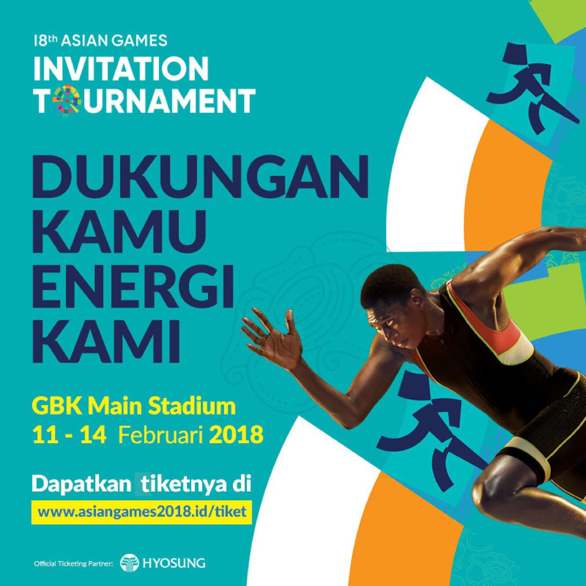 Asian Games  On Twitter Lets Sprint To Gbk Main Stadium And Watch The Asiangames Invitation Tournament Athletics Get Your Tickets On The Spot
