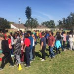 Parent Volunteers, Padres en Accion, set up various obstacle courses challenging Sunkist students to complete. The lines were long and well worth the wait!
