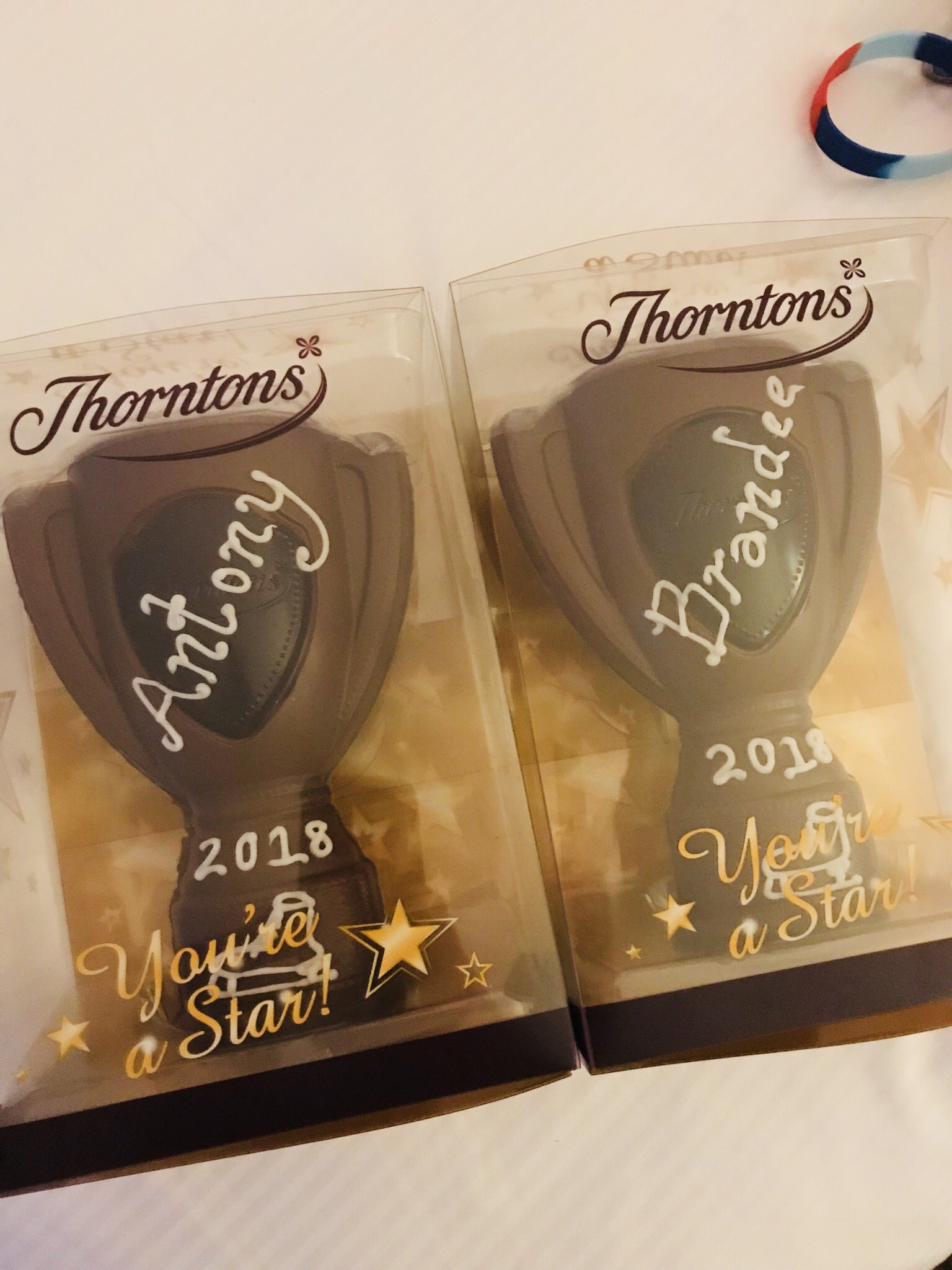 Look @YayItsBrandee - delicious @thorntonschocs gifts from @_pintsizehero!!! Thank you!!! https://t.co/DH24rbZK38
