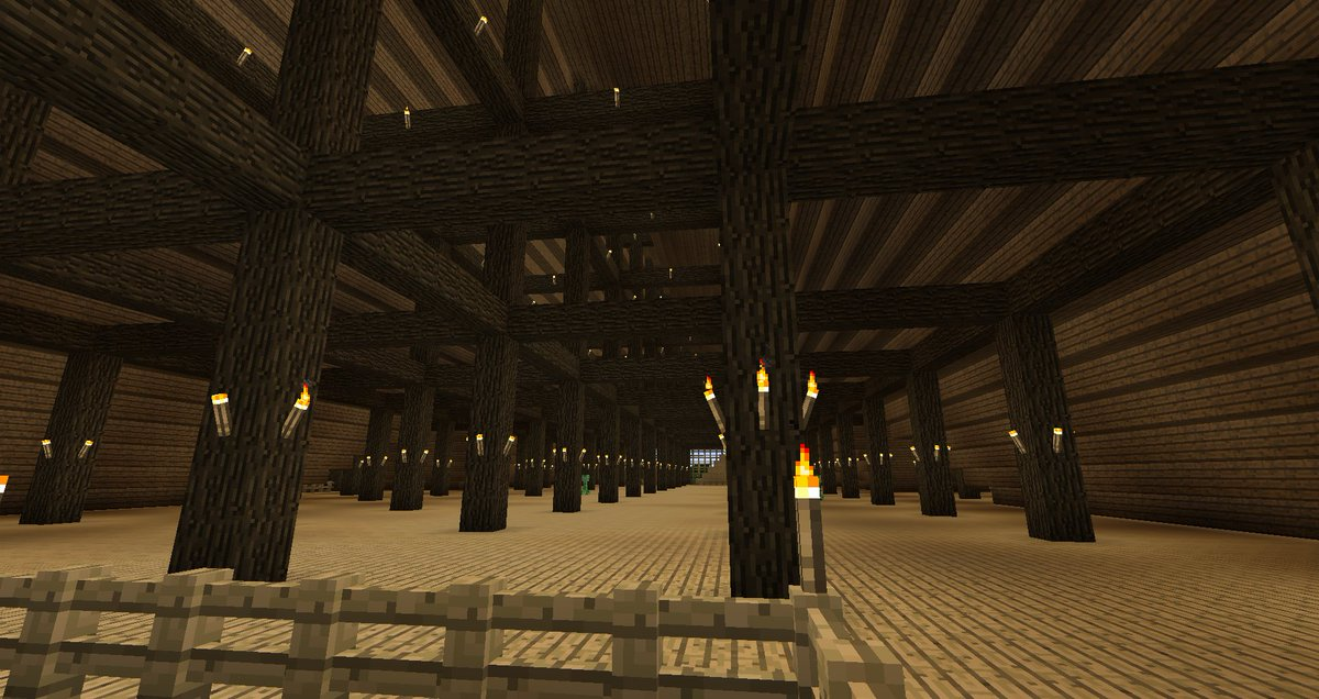 Techgeekscraft On Twitter Attic Of Our Newly Built Horse Barn Near Spawn The Barn Consists Of 44 Stalls Check Us Out On Minecraft Https T Co Xqcndxn1me Minecraft Minecraftserver Horses Barn Spigot Towney Https T Co Qhfqowp7qz