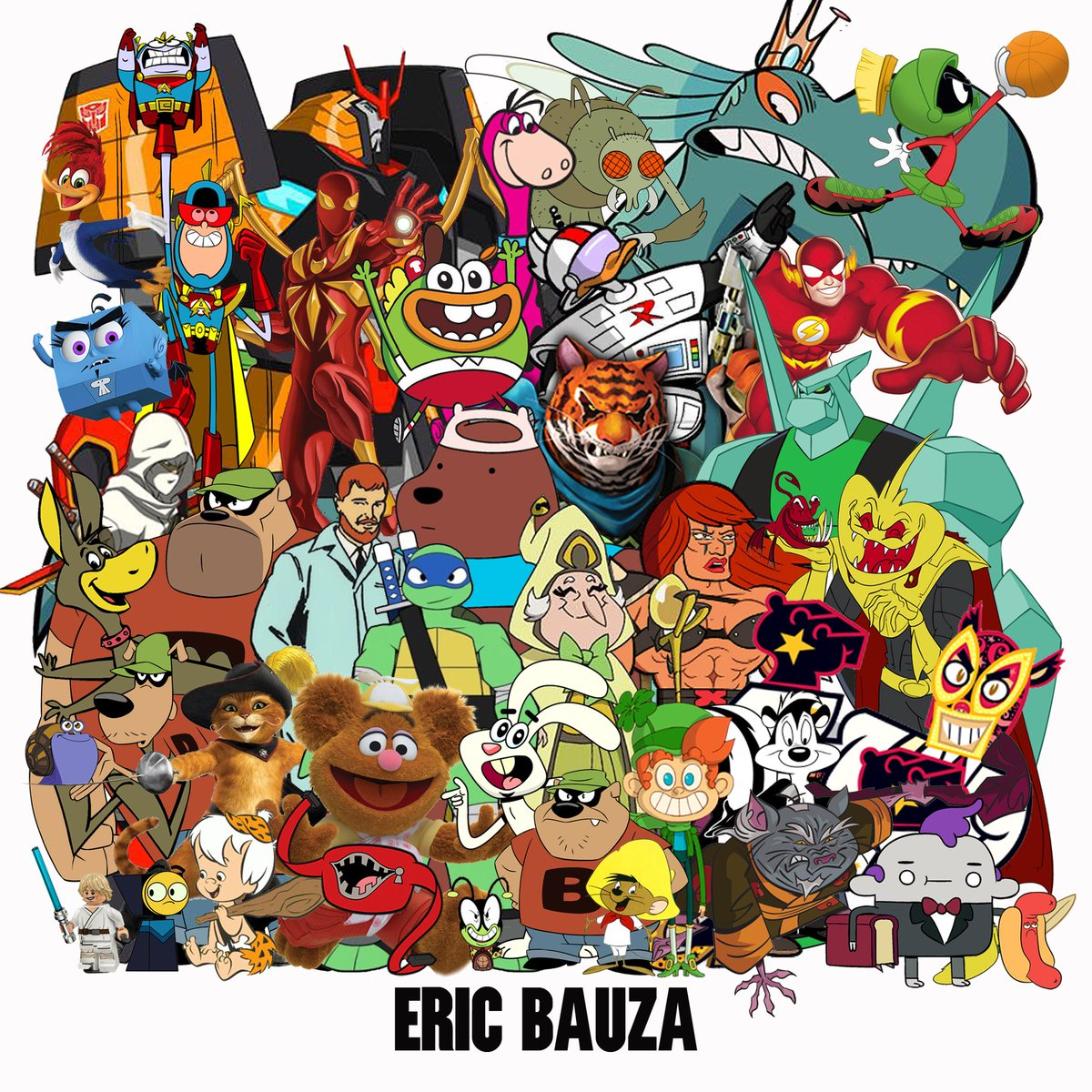 Watch Eric Bauza video
