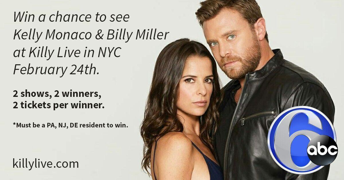 Action news on 6abc on twitter 6abc is giving away tickets to see at killylive fans will meet n greet stars of abcs generalhospital and you could join sign up now to win httpbit2eh8edb picitter m4hsunfo