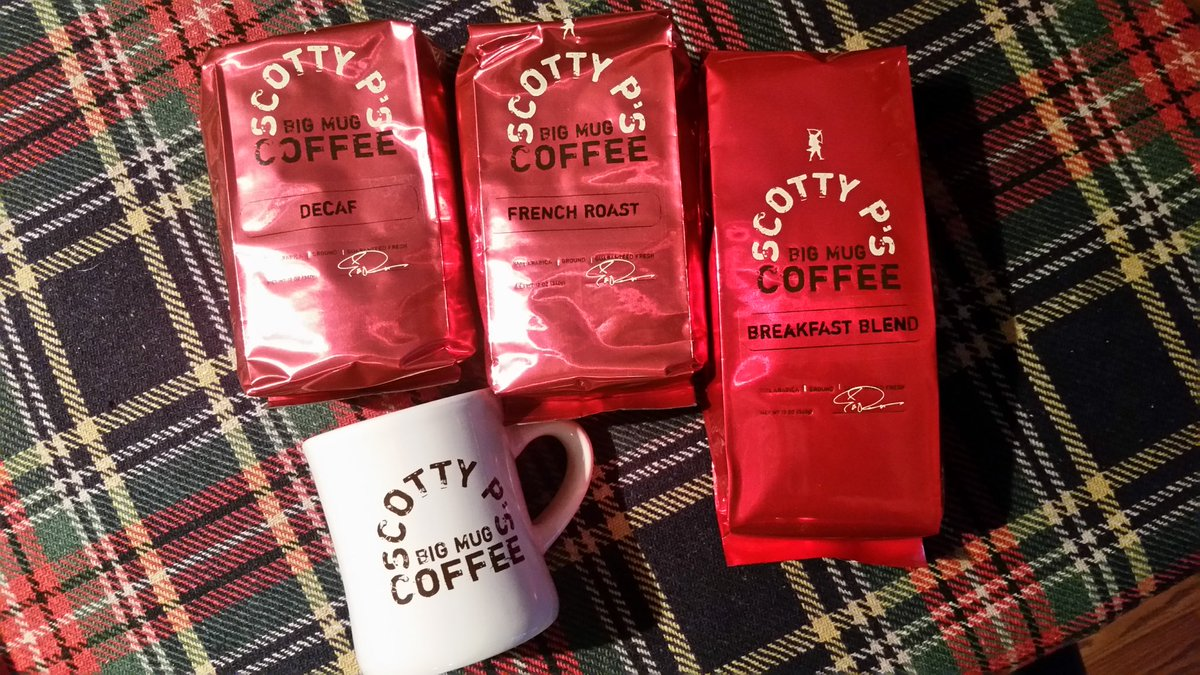 P's Twitter Scotty Coffee Mug On Big f6Yb7yvg