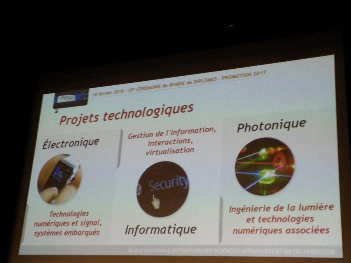 Photo des projets technologiques